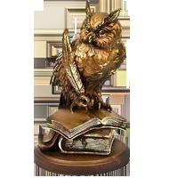 Логотип - Золотая Сова, учебно-консалтинговый центр в Одессе